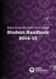Student Handbook 2013-14 - Tyne Metropolitan College