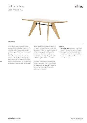 Table Solvay - Vitra