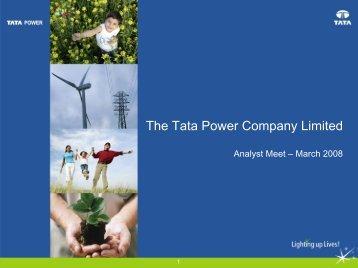 The Tata Power Company Limited
