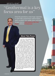 Geothermal is a key focus area for us - Tata Power