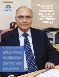 It is Important to include the Renewable Energy sector ... - Tata Power