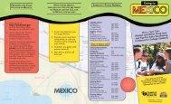BROC-025 Going to Mexico Brochure 2009.qxp - University of Arizona