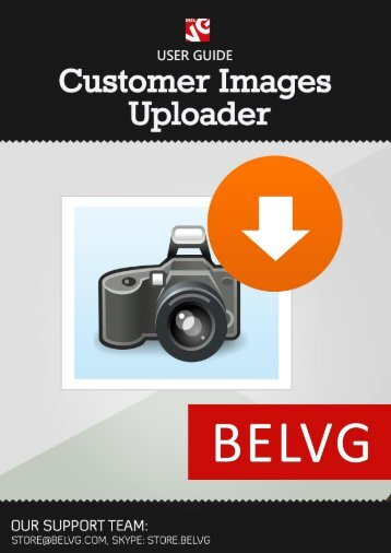 Customer Images Uploader User Guide - BelVG Magento ...