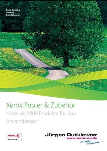 Unsere Top 10 Gründe…. - XEROX Vertragspartner Jürgen Rutkiewitz
