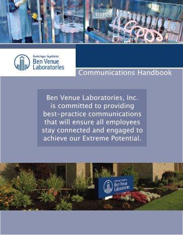 Communications Handbook for PDF - Boehringer Ingelheim