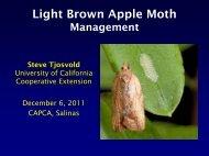 LBAM Presentation December 6, 2011 Tjosvold - Santa Cruz County