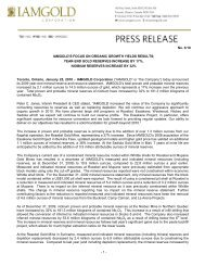 Download this News Release (PDF 337 KB) - Iamgold
