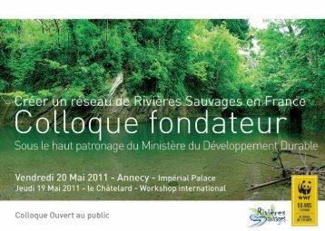 Colloque fondateur, 20 mai 2011 -Impérial Palace - WWF France