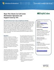 Wyse Thin Clients  Cut Call Center Workstation ... - Wyse Technology