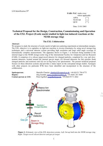 Technical Proposal - Nuclear Physics - University of Liverpool