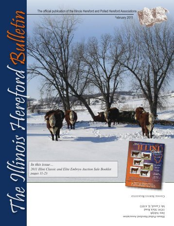 In this issue… - Illinois Hereford Association