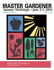 Brochure Information - Iowa Master Gardener Program - Iowa State ...