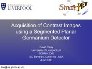 Acquisition of Contrast Images using a Segmented Planar ...