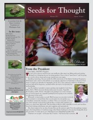February 2013 - Master Gardener Program - Washington State ...