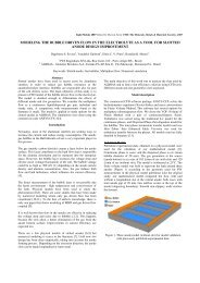 modeling the bubble driven flow in the electrolyte as a tool for slotted ...