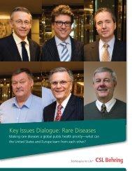 Rare Diseases Dialogue - CSL Behring
