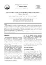 Four years of free-air CO2 enrichment enhance soil C - ResearchGate