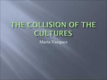 The Collision of the cultures - IMIA