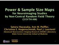 Power & Sample Size Maps - ANSIR Laboratory