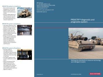 PRDICTR Brochure - Events - BAE Systems