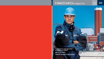 Finmeccanica Magazine N. 22 - The Business Game