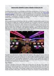 Interessante Teknikker Casino nettsider Utnytte On You