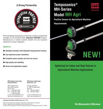 download MH Agri PDF - MTS Sensors