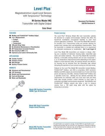 Level Plus® - MTS Sensors