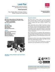 Level Product Catalog Chp 1.indd - MTS Sensors