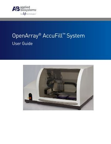 applied biosystems 7900ht fast real time pcr system user manual