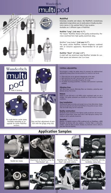 Application Samples - Wunderlich America