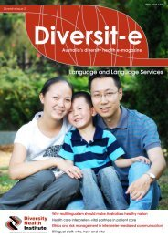 Diversity e Issue - Diversity Health Institute