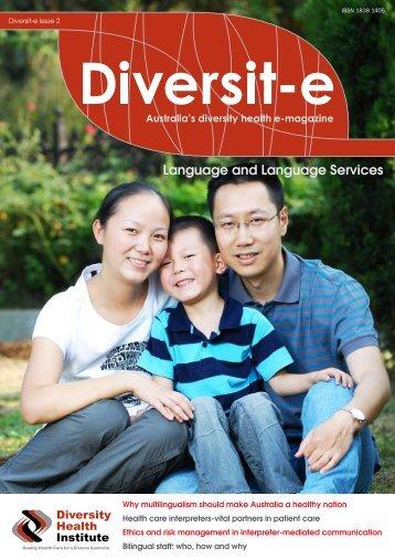 Diversity e Issue - Diversity Health Institute