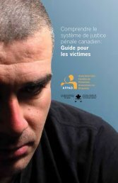 Guide - Canadian Resource Centre for Victims of Crime
