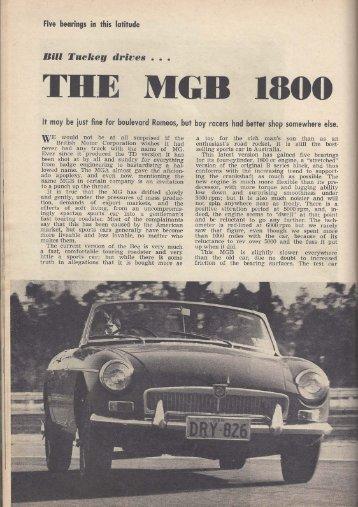 SCW_SEP_1965 - MGBs Made In Australia