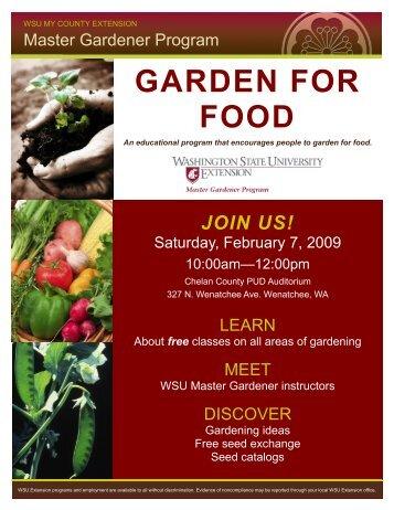 See Example - Master Gardener Program