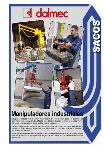Manipuladores Industriales - Dalmec