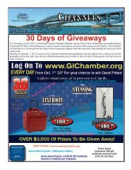 CHANNELS 30 Days of Giveaways - Grand Island Chamber of ...