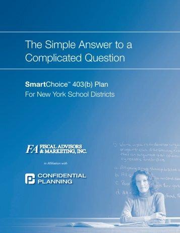 SmartChoice 403(b) Plan - Fiscal Advisors