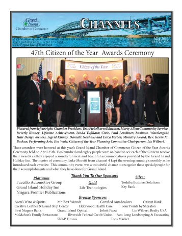 May 2013 Newsletter.indd - Grand Island Chamber of Commerce