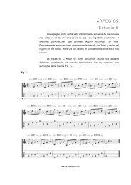 arpegiosestudioii-090226145701-phpapp02 - La guitarra y los ...