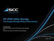 HP 3PAR Utility Storage - Workcast