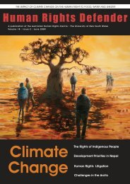 Climate Change and Indigenous Peoples - Australian Human Rights ...