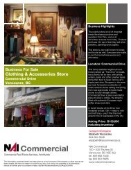 Clothing & Accessories Store - NAI Commercial