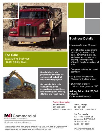 For Sale - NAI Commercial