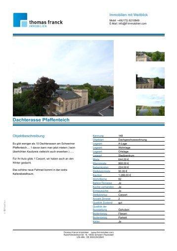 Dachterasse Pfaffenteich - Michael Weiß Immobilien