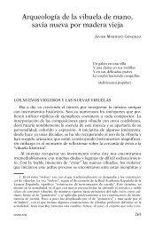 arqueologia de la vihuela de mano - La guitarra y los instrumentos ...