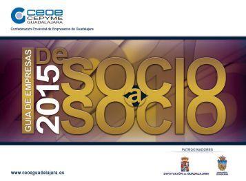 Guia de SOCIOaSOCIO 2015 - CEOE-CEPYME Guadalajara