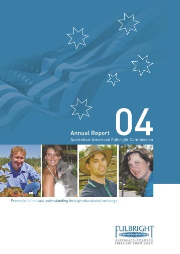 FULL 206167 Annual Report AW - Australian - American Fulbright ...