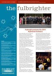 April - Australian - American Fulbright Commission